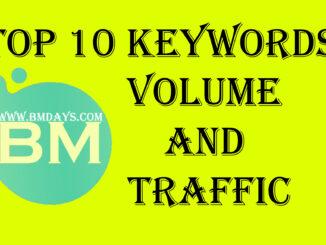 Top 10 Keywords