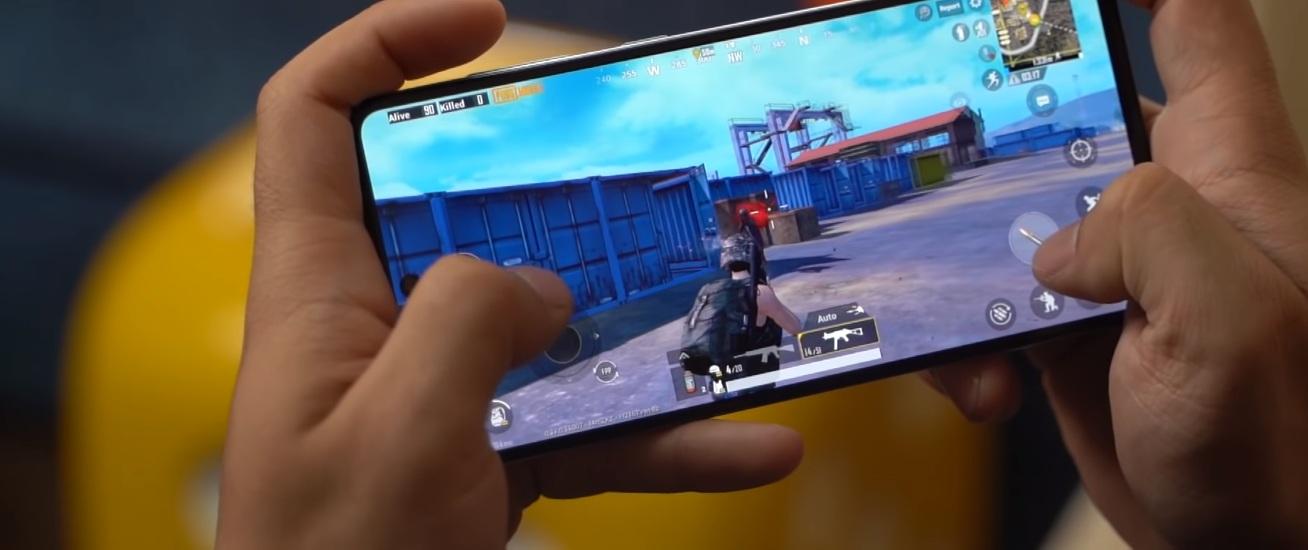Samsung A71 Gaming pubg