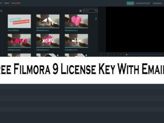filmora key list 2020