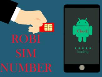 Check Robi Number code
