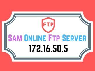 Sam Online Ftp Server 172.16.50.5